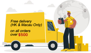 Free delivery on all orders over HK$400.